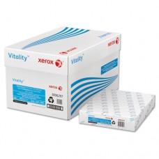 Vitality 30% Recycled Multipurpose 3-Hole Paper, 8 1/2 X 11, White, 500 Sheets
