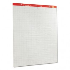 Recycled Easel Pads, Quadrille Rule, 27 X 34, White, 50 Sheet 2/ctn