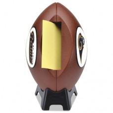 "Nfl Football Dispenser, 3"" X 3"", Tan, Saint Louis Rams"