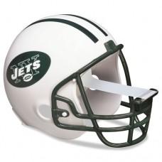 """Nfl Helmet Tape Dispenser, New York Jets, Plus 1 Roll Tape 3/4"""" X 350"""""""