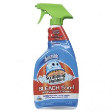 Scrubbing Bubbles Bleach 5-In-1 Cleaner, Fresh Clean, 32oz Trigger Bottle, 8/ct