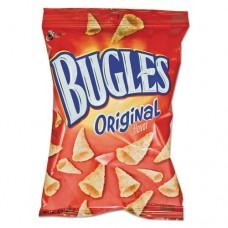Bugles Corn Snacks, 3oz, 6/box