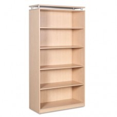 Alera Sedina Series Bookcase, Five-Shelf, 36w X 15d X 72h, Maple