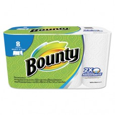 Select-A-Size Perforated Roll Towels, 2-Ply, White, 6 X 11, 70 Towels/roll, 8/pk