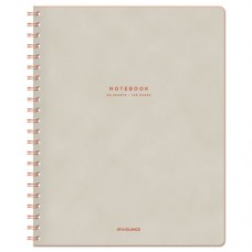 "Collection Twinwire Notebook, Legal, 8 3/4"" X 11"", Tan/red, 80 Sheets"