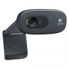 C270 Hd Webcam, 720p, Black