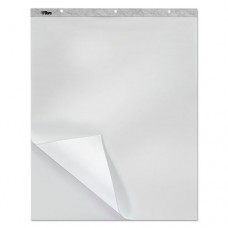 Bleed Blocker Easel Pad, Unruled, 27 X 34, White, 40 Sheets, 2 Pads/pack