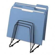 Wire Step File Ii, 5 Comp, Steel, 7 1/4 X 6 X 8 1/4, Black