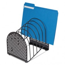 Perf-Ect Step File, 7 Sections, Steel, 7 X 8 7/8 X 9 3/8, Black