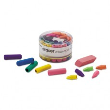 Eraser Pack, Assorted Colors, 45/pack