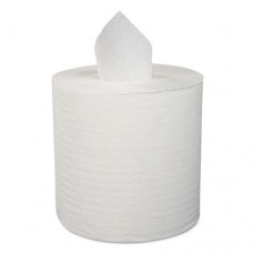 "Center-Pull Roll Towels, 1-Ply, 12""w, 600/roll, 4/carton"