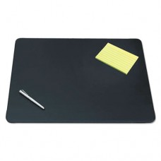 Sagamore Desk Pad W/decorative Stitching, 24 X 19, Black