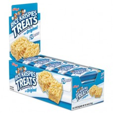 Rice Krispies Treats, Original Marshmallow, 1.3oz Snack Pack, 80/carton