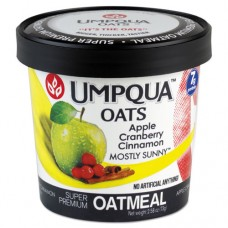 Super Premium Oatmeal, Mostly Sunny, 2.54 Oz Cup, 12/carton