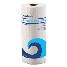 "Office Packs Perforated Paper Towel Rolls, 2-Ply, White, 9"" X 11"", 60/roll,15/ct"