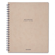 "Collection Twinwire Notebook, Legal, 8 3/4"" X 11"", Tan/navy Blue, 80 Sheets"