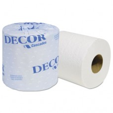 Decor Standard Bathroom Tissue, 2-Ply, 4 5/16 X 3 1/4, 550/roll, 80 Roll/carton