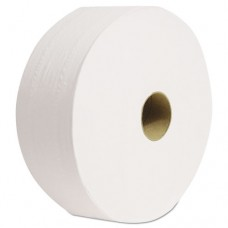 "Cascades Jrt For Tandem Dispensers, 2-Ply, 3 1/2"" X 1400', White, 6 Rl/ctn"