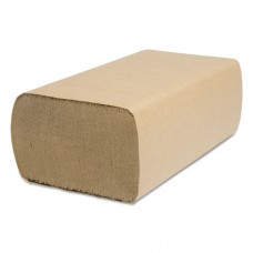 Decor Folded Towel, Multifold, Natural, 9 1/8 X 9 1/2, 250/pack, 4000/carton