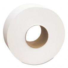 "North River Jumbo Roll Tissue, 2-Ply, White, 3 1/2"" X 1000', 12 Rolls/carton"