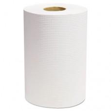 "Decor Hardwound Roll Towels, White, 7 7/8"" X 350', 12/carton"