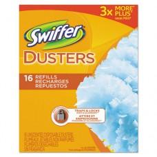 Refill Dusters, Dust Lock Fiber, Light Blue, Unscented, 16/box, 4 Box/carton