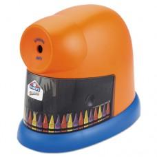 Crayonpro Electric Crayon Sharpener With Replacable Blade, Orange