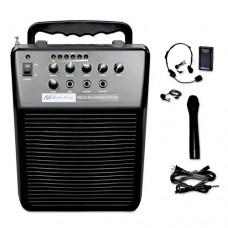 Mityvox Wireless Portable Pa System, 20w Amp