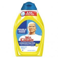 Liquid Muscle Gel Cleaner, Lemon, 30 Oz Bottle, 4/carton