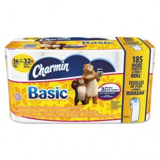 Basic Bathroom Tissue, 1-Ply, 4 X 3.92, 264/roll, 16/carton