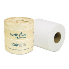 North River Standard Bathroom Tissue, 2-Ply, 4 X 3 3/16, 500/roll, 96/carton