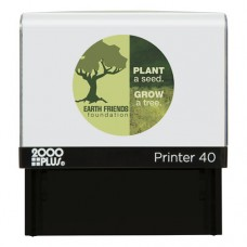 Self-Inking Custom Message Stamp, 7/8 X 2 5/16