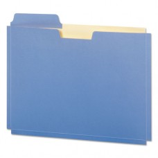 Expanding File Folder Pocket, Letter, 11 Point Stock, Assorted, 10/pack