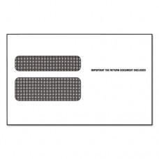 Double Window Envelope For Continuous W-2 Tax Forms, 9 1/2 X 5 5/8