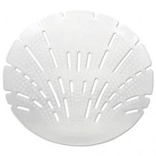 Pearl 3d Urinal Screen, Melon Mist, Clear, 10/pack, 6 Pack/carton