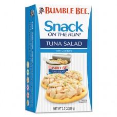 On-The-Go Meal Solution W/crackers, Tuna Salad, 3.5oz, 12/carton