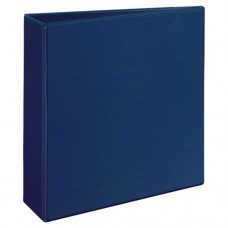 "Durable View Binder W/slant Rings, 11 X 8 1/2, 3"" Cap, Blue"