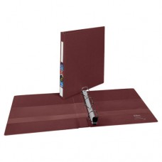 "Heavy-Duty Binder With One Touch Ezd Rings, 1"" Capacity, Maroon"