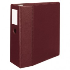 "Heavy-Duty Binder With One Touch Ezd Rings, 11 X 8 1/2, 5"" Capacity, Maroon"