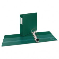"""Heavy-Duty Binder With One Touch Ezd Rings, 11 X 8 1/2, 3"""" Capacity, Green"""