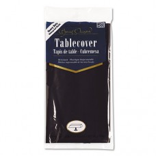 Plastic Tablecovers, 54 X 108, Black