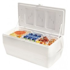 Marine Series Ice Chests, 150 qt, White