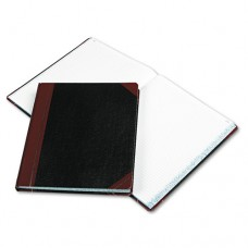 Record Ruled Book, Black Cover, 300 Pages, 10 1/8 X 12 1/4