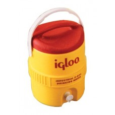 YELLOW|400 Series Coolers, 10 gal, Red