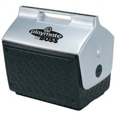 Playmate The Boss Coolers, 14 qt, Black/Silver