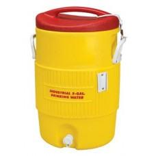 400 Series Coolers, 10 gal, Red, Yellow