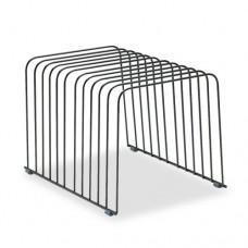 Wire Desktop Organizer, 11 Comp, Steel, 9 X 11 3/8 X 8, Black