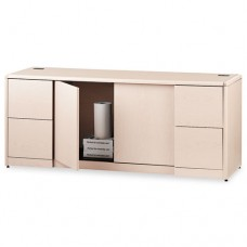 10700 Series Credenza W/doors, 72w X 24d X 29 1/2h, Natural Maple