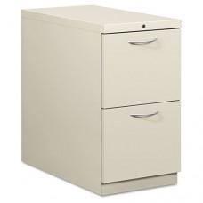 Flagship Mobile File/file Pedestal, Arch Pull, 28-7/8d, Light Gray
