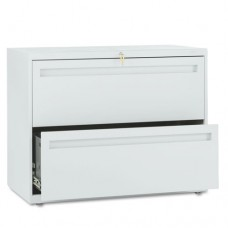 700 Series Two-Drawer Lateral File, 36w X 19-1/4d, Light Gray